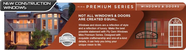 Premium Energy Efficient Aluminum And Vinyl New