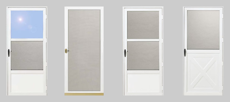 Premium quality aluminum storm doors and screen doors | SashPro