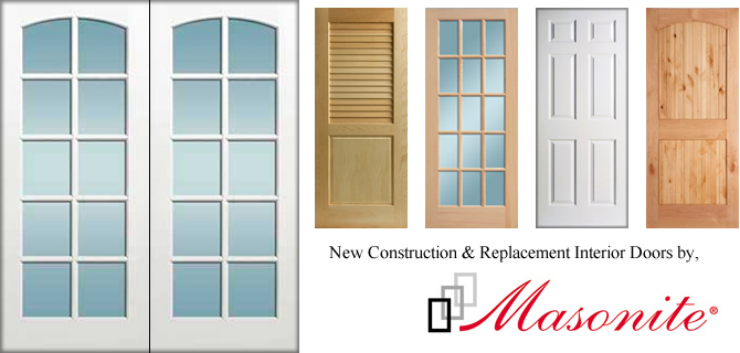 At Sash Pro, We Carry A Full Line Of The Highest Quality Interior Doors  From Masonite And Other Premium Door Manufacturers.